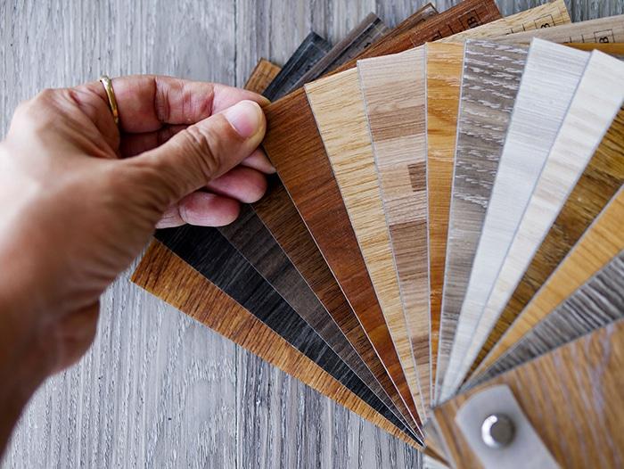 Revêtement de sol : Différents PVC